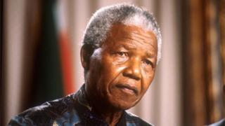 Nelson Mandela (file photo)