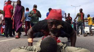 Ghana protest