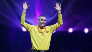 Greg Page, seen here performing at a Wiggles reunion show in 2012