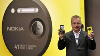 Presentación de Nokia