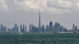 """""""Бурдж-Халифа"""" в Дубае"""