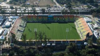 Le stade de Deodoro