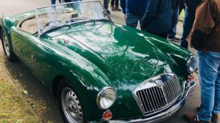1959 MG A Series Twin Cam