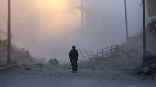 Halep'te siviller