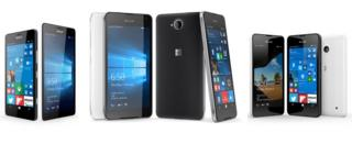 Windows 10 Mobile phones