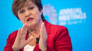 International Monetary Fund (IMF) Managing Director Kristalina Georgieva