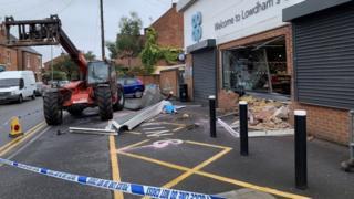 Lowdham Co-op ATM raid