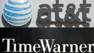 Логотипы AT&T и Time Warner