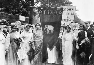 1911 suffrage 'Coronation Procession'