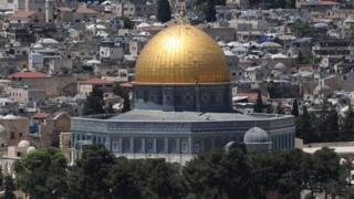 مسجد قبة الصخرة في القدس