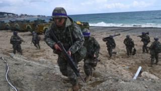 US and South Korea troops take part in Foal Eagle (April 2017)