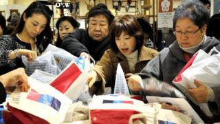 Fukubukuro: Why Japan goes crazy for 'lucky bags'