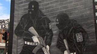 Paramilitary mural