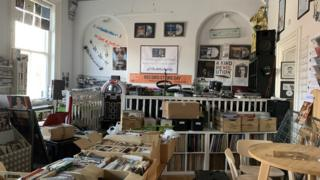 The Attic record store