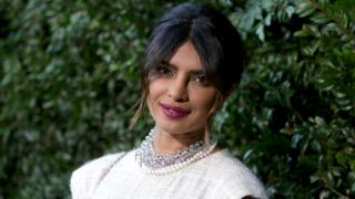 Actress Priyanka Chopra at an event in 2018