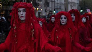 راهپیمایی دسته سرخ در لندن