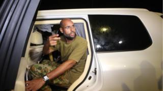 La procureure de la Cour Pénale Internationale Fatou Bensouda demande l'arrestation de Seif Al Islam.