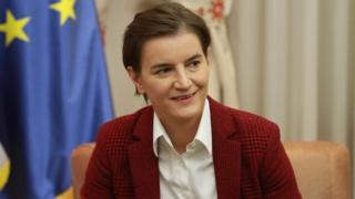 Sırbistan'ın ilk kadın ve ilk eşcinsel başbakanı Ana Brnabic