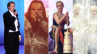 Will Ferrell, Lordi, Polish dancer 2014, Jedward 2012
