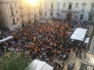 Демонстрация юнионистов