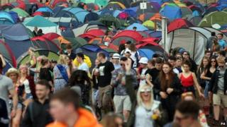 T in the Park Strathallan