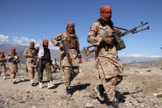 Талибан жоокерлери Лангман провинциясында