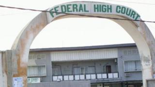 Le siège de la Cour suprême du Nigeria, à Abuja, la capitale