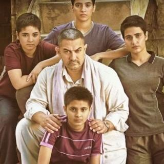 Promotional image for the film Dangal