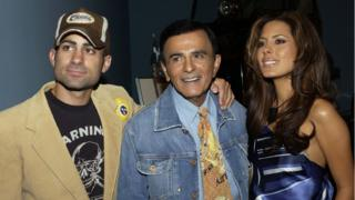 Mike, Casey and Kerri Kasem in 2005