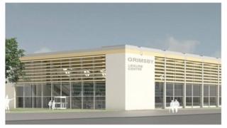 Artist impression of new leisure centre