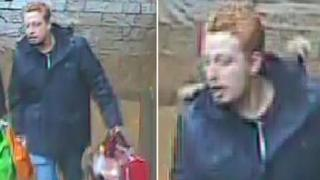 CCTV of man police want to speak to over Whitney GBH