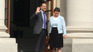 Leo Varadkar and Arlene Foster