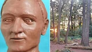 Clay head model/Lings Wood