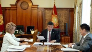 Президент Сооронбай Жээнбеков Улуттук стратегиянын иштелип бүткөн долбоору менен 16-июлда таанышты.