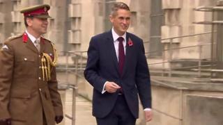 英國防大臣加文·威廉姆森