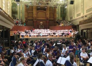 Concert in Ulster Hall