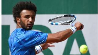 Dan wasan Tennis na Faransa Maxime Hamou