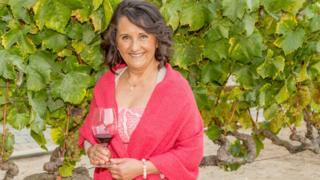 Amelia Morán Ceja, presidenta de Viñedos Ceja, California