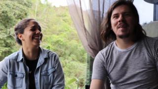Angelis Quiroz y Jhosman Paredes