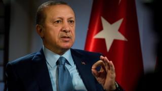 Shugaba Erdogan