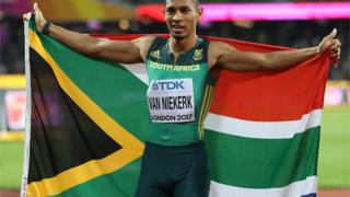 Wayde van Niekerk, athlétisme, afrique du sud