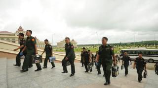တပ်မတော် သားလွှတ်တော်ကိုယ်စားလှယ် တွေအများဆုံးစံချီန်တင်ပါဝင်
