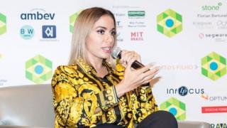 Anitta na Brazil Confrence