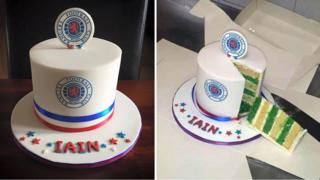 Prank cake