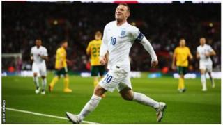 Wayne Rooney afite umuhigo wo gutsindira Ubwongereza ibitego 53