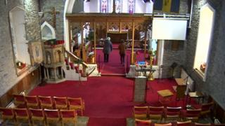 St Lleurwgs Church