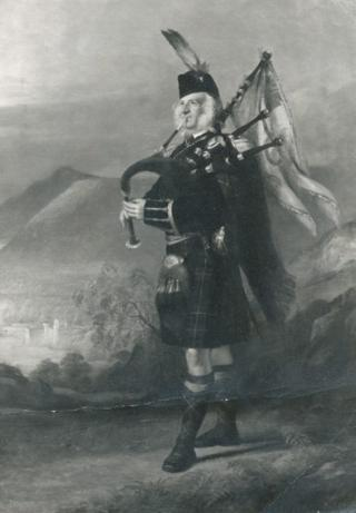 The Piper to the 2nd Marquess of Breadalbane by J M BARCLAY