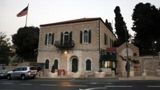 القنصلية الأمريكية في القدس
