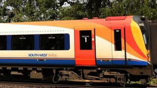 英国西南铁路