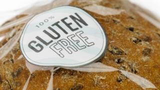 Gluten-free sticker